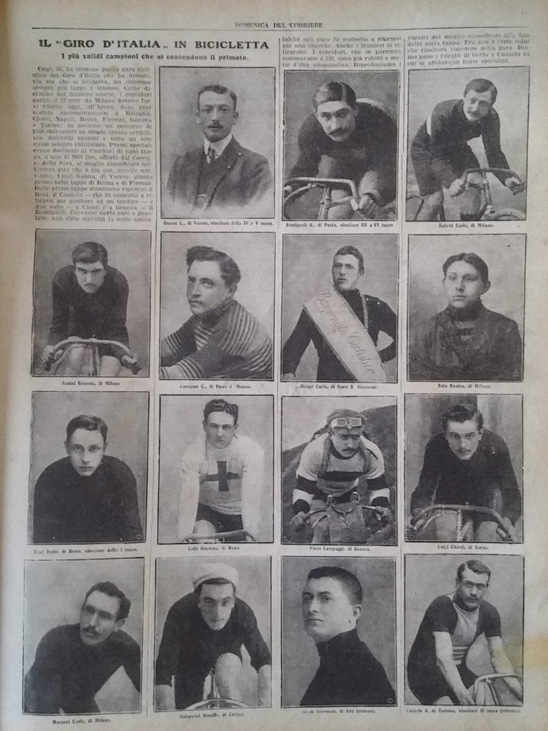 Ciclismo primo Giro 1909