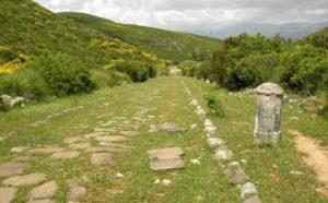 Via Appia Antica tra Itri e Fondi