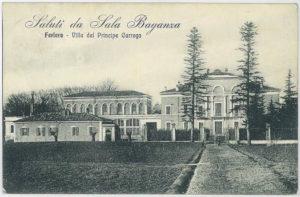 Villa del Ferlaro del Principe Carrega