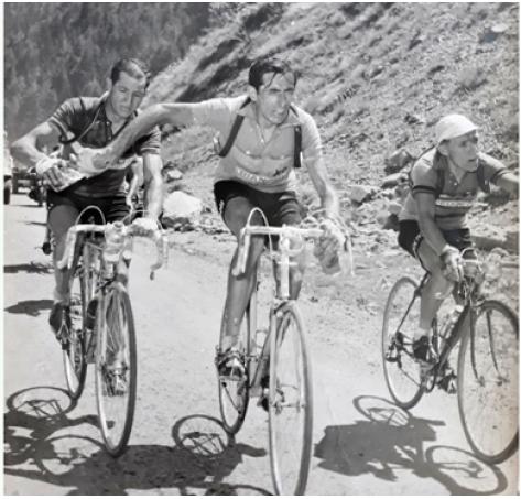 Col du Télégraphe 1952, Carlo Martini